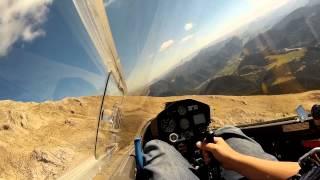 Hangflug am Pic de Bure Gliding French Alps