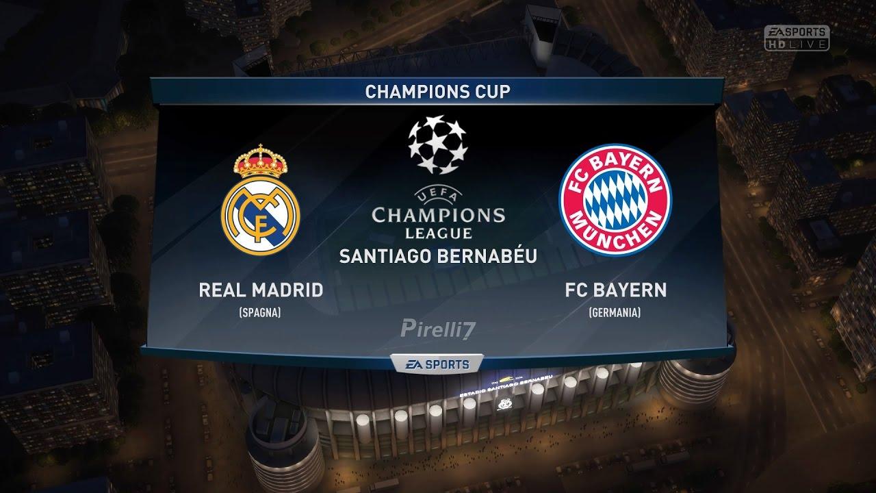Real Madrid Fc Bayern Munich