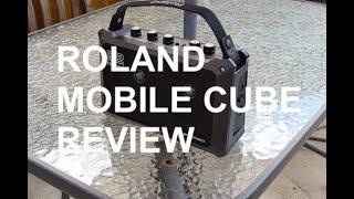Got A Ukulele Review - Roland Mobile Cube Amplifier