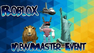 Roblox ViewMaster Event: Collecting Stamps!