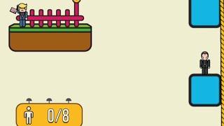 Rope Rescue! - Unique Puzzle Levels 11-20 Gameplay