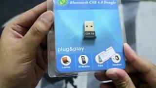 Urdu/Hindi Best Bluetooth 4.0 For Pc & Laptops CSR Bluetooth 4.0 Dongle Review