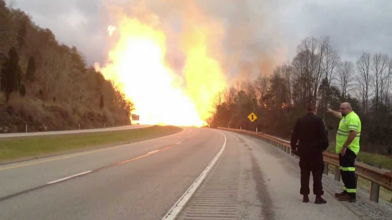 Natural Gas Pipeline Explosion Youtube