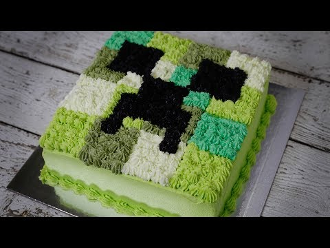Minecraft Birthday Cake In The Way You Love