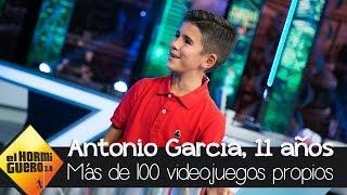 El niño de 11 años que ha inventado más de 100 videojuegos propios - El Hormiguero 3.0