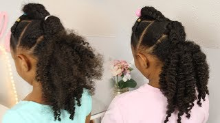 Quick Easy Style for a Braid Out⎪Natural Hair