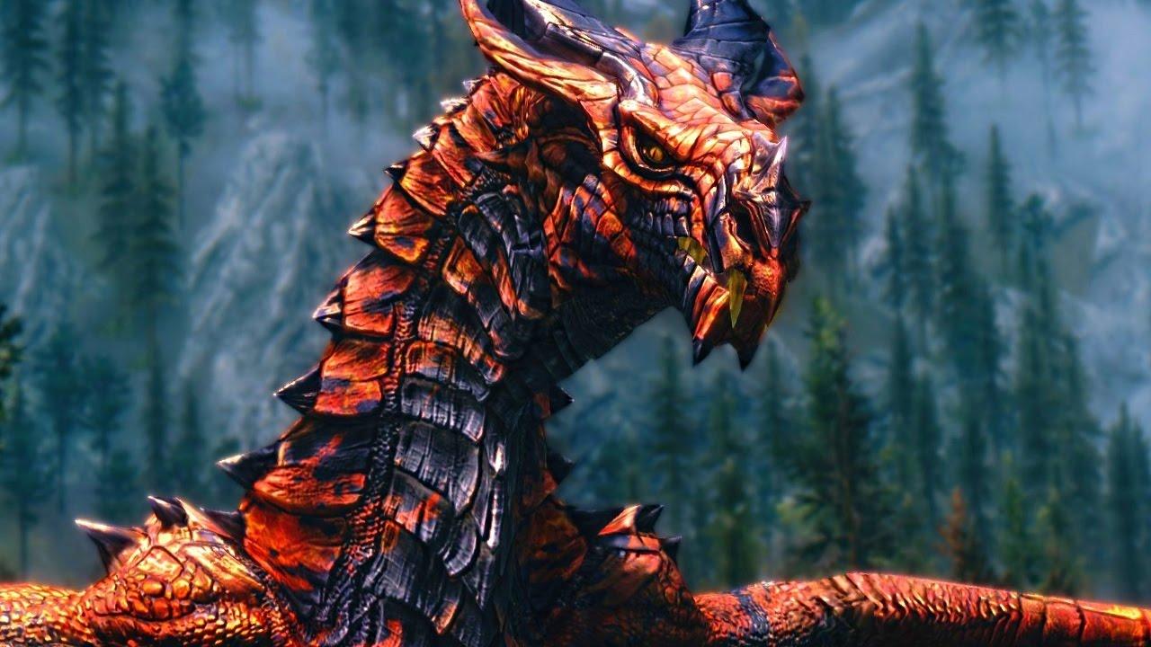 Skyrim Dragon: SKYRIM Special Edition: ANCIENT DRAGON Encounter