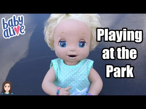 Baby Alive Delilah Plays at the Park | Kelli Maple
