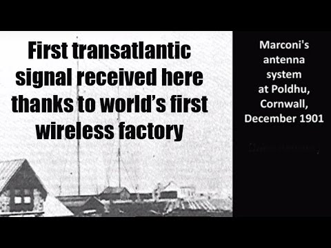 CRHnews - Marconi Poldhu wireless equipment made at Hall Street, Chelmsford