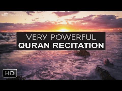 Very Powerful Quran Recitation   Full HD   English Subtitles