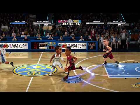 NBA Jam On Fire Edition Toronto Raptors Vs. Denver Nuggets