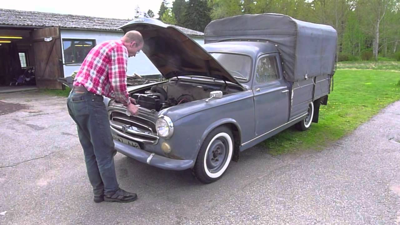 peugeot 403 camionnette youtube. Black Bedroom Furniture Sets. Home Design Ideas