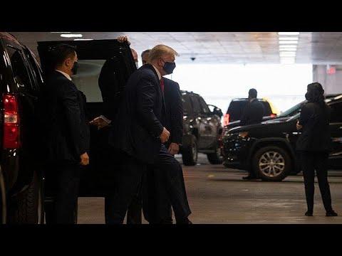 شاهد: ترامب يزور شقيقه في مستشفى بنيويورك
