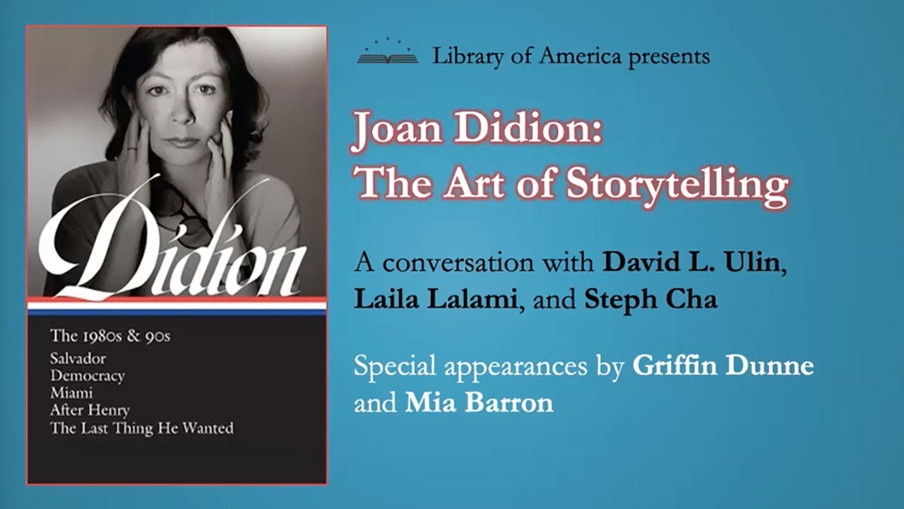 Download Joan Didion: The Art of Storytelling