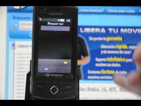 Liberar Samsung S8300, cómo desbloquear Samsung S8300 de Vodafone  - Movical.Net