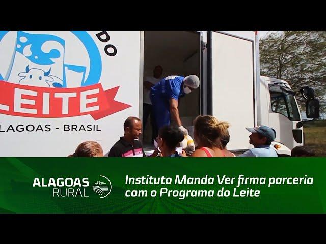 Instituto Manda Ver firma parceria com o Programa do Leite