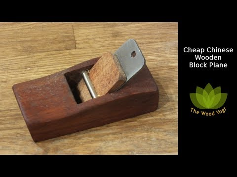 Cheap Chinese Wooden Hand Block Plane - One of my best - Woodworking