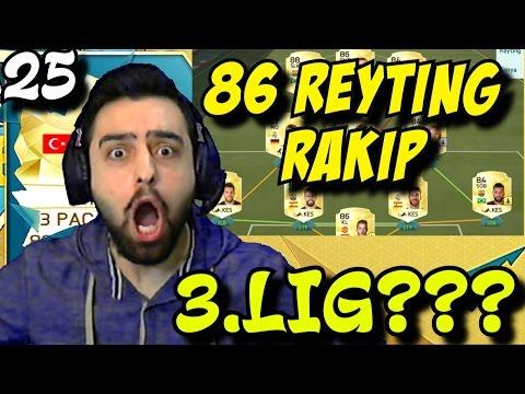 Fifa 16 Ultimate Team Türkçe | En güclü Rakip ile 3.LIG Savaşi | 25.Bölüm | Ps4