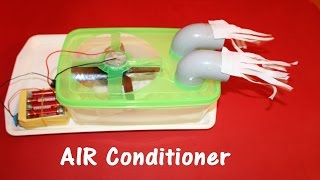 how to make air conditioner at home easy