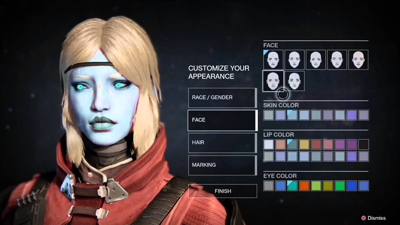 Destiny How To Make Best Looking Awoken - YouTube
