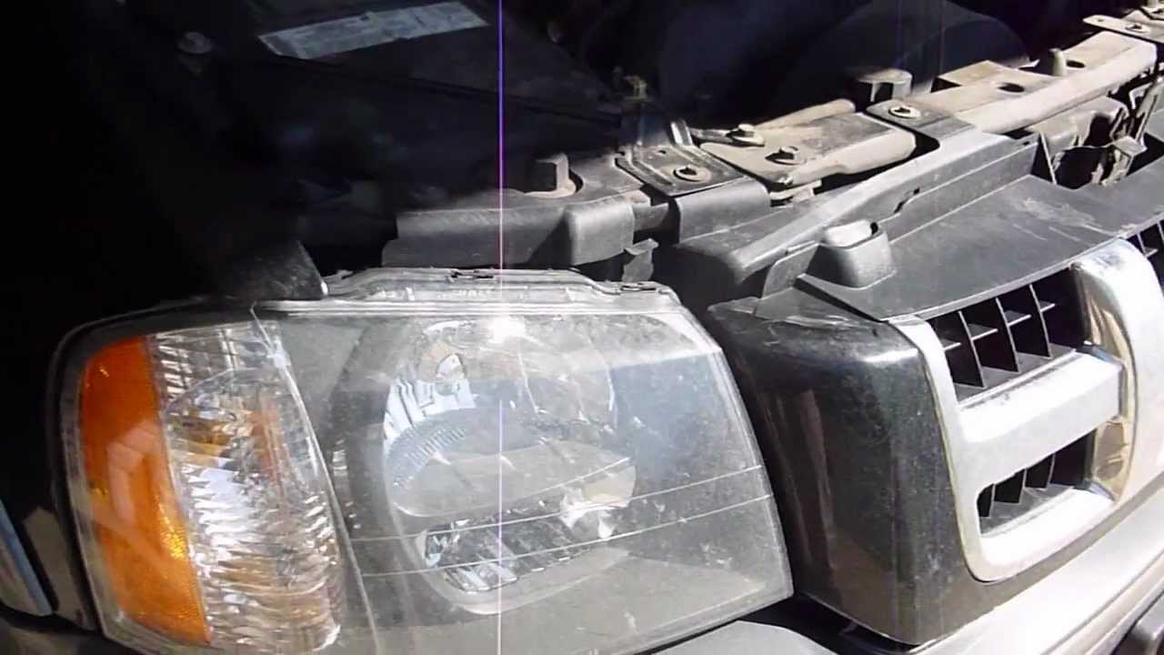 Headlight Replacement 2004 Ascender Youtube