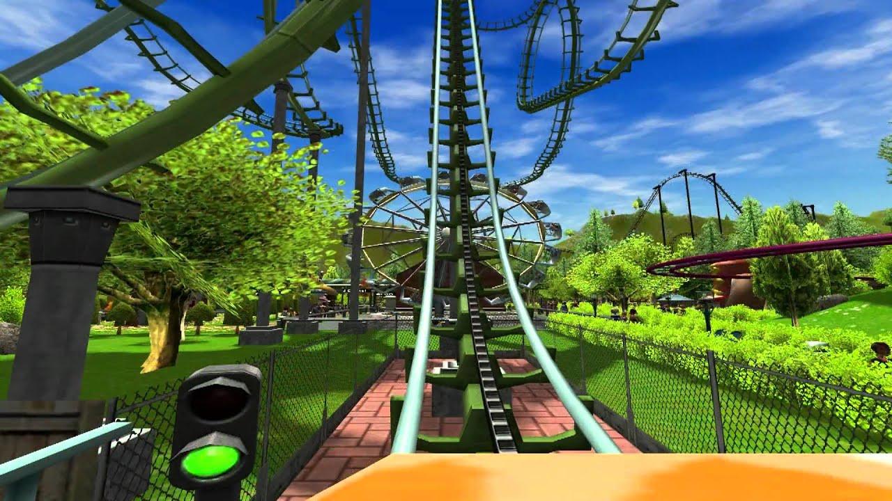 Roller Coaster Wallpaper 1920x1080