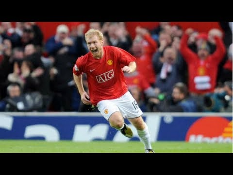 Paul Scholes ● Top 10 Goals Ever | 1993-2013