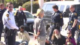 Occupy Tucson Evicted From De Anza Park March 1