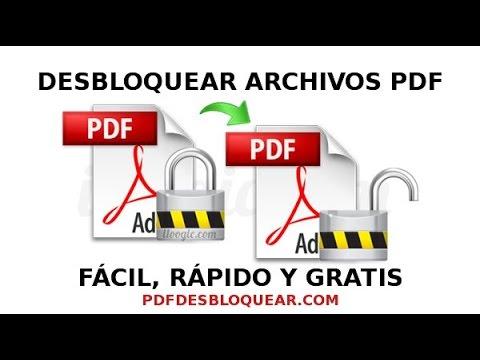 5 Servicios web para desbloquear PDF online gratis