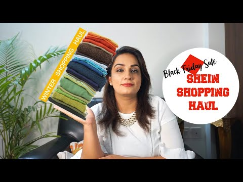 HUGE SHEIN BLACK FRIDAY HAUL! | Winters Shopping