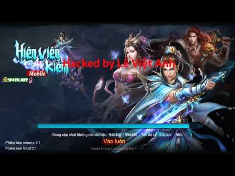 Hướng dẫn tải hack game Hiên Viên Kiếm v2.3 cho Android