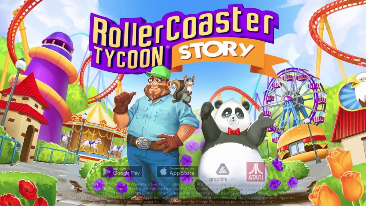 ผลการค้นหารูปภาพสำหรับ rollercoaster tycoon story