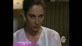 """🎭 Сериал """"Мануэла"""" 215 серия, 1991 год, Гресия Кольминарес, Хорхе Мартинес"""