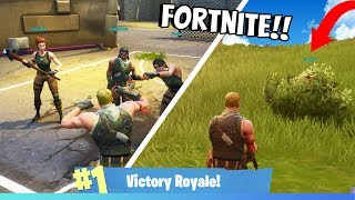 CAN YOU WIN WITHOUT SKINS IN FORTNITE BATTLE ROYALE?