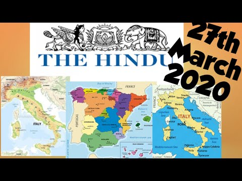 The Hindu Newspaper 27th March 2020