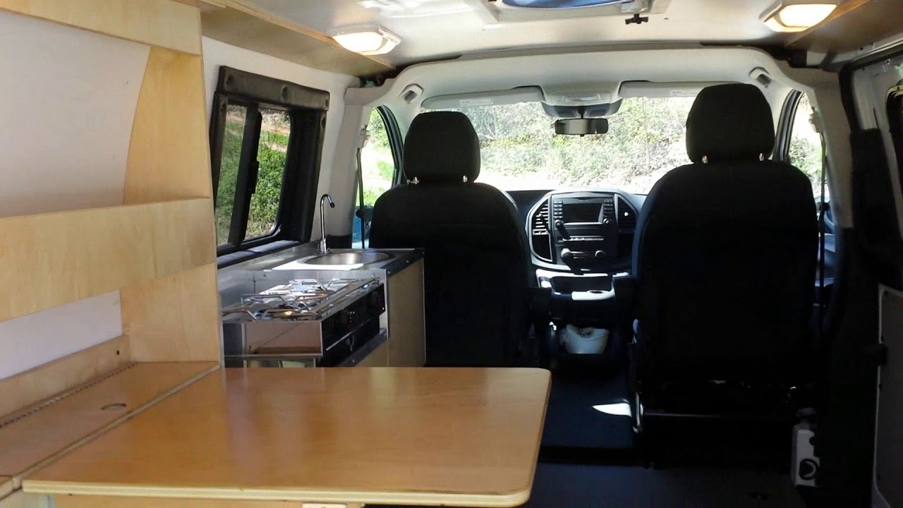 Metris Micro Conversion For Camping And Cargo