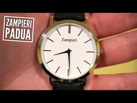 Zampieri Padua - Classic Swiss Quartz Mens Dress Watch Review