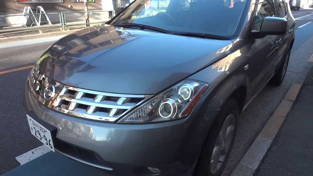 2006 Nissan Murano 4wd 3 5ltr For Sale Tokyo Japan Youtube