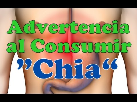 ¡¡ ADVERTENCIAS !! SOBRE El CONSUMO DE LA CHÍA Contraindicaciones Riesgos Peligros De Consumir Chia