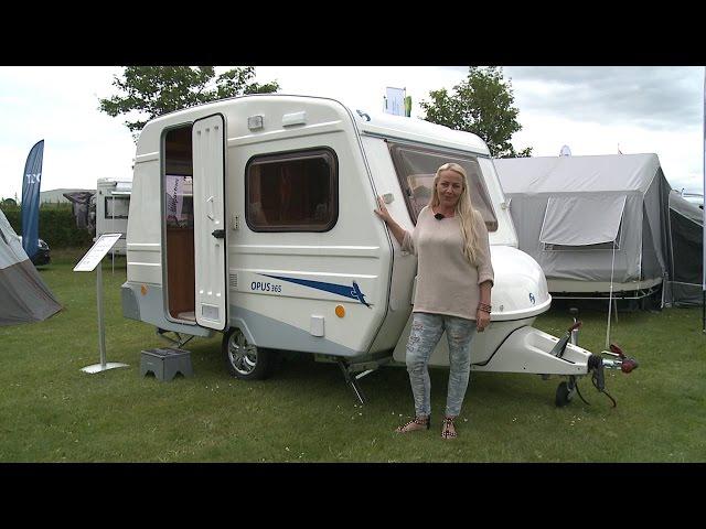 Opus 365 - Lille og billig campingvogn