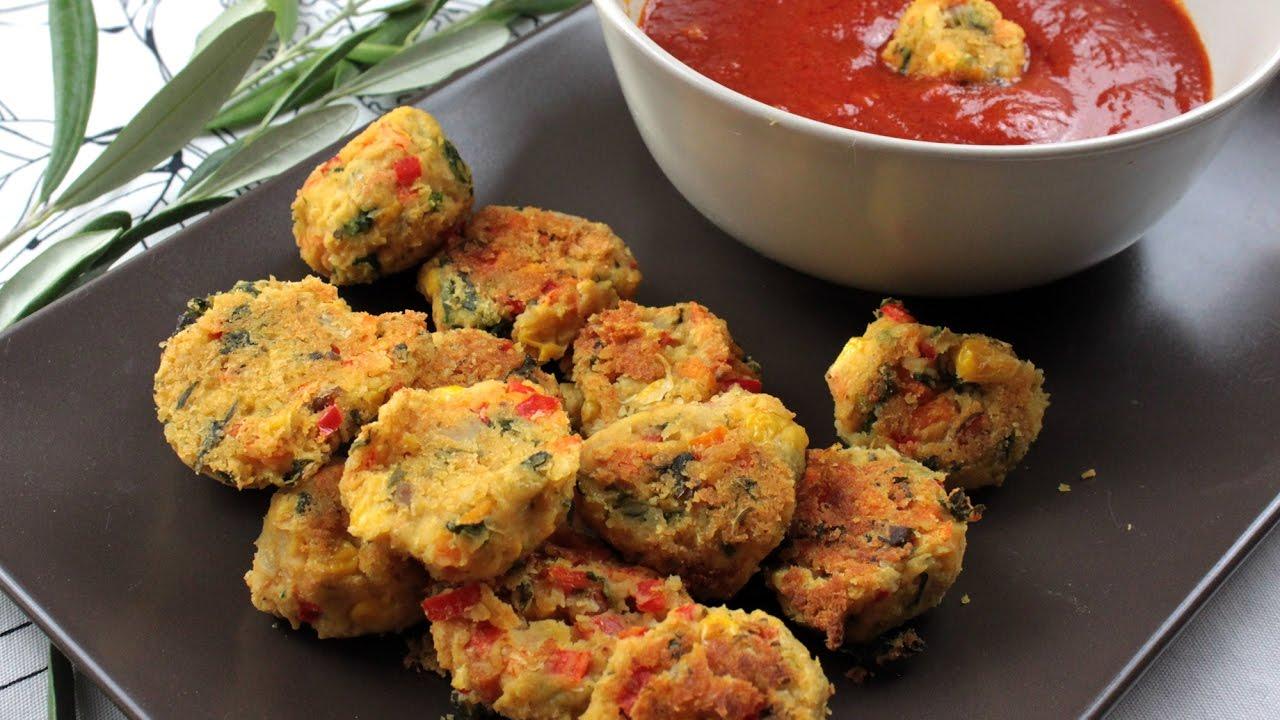 Polpette vegetariane di ceci e verdure ricetta veloce for Ricette vegetariane