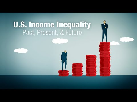 The Past, Present and Future of US Income Inequality with Va
