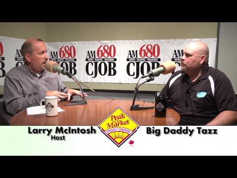 Food and Friends TV with Larry McIntosh & Big Daddy Tazz, Comedian