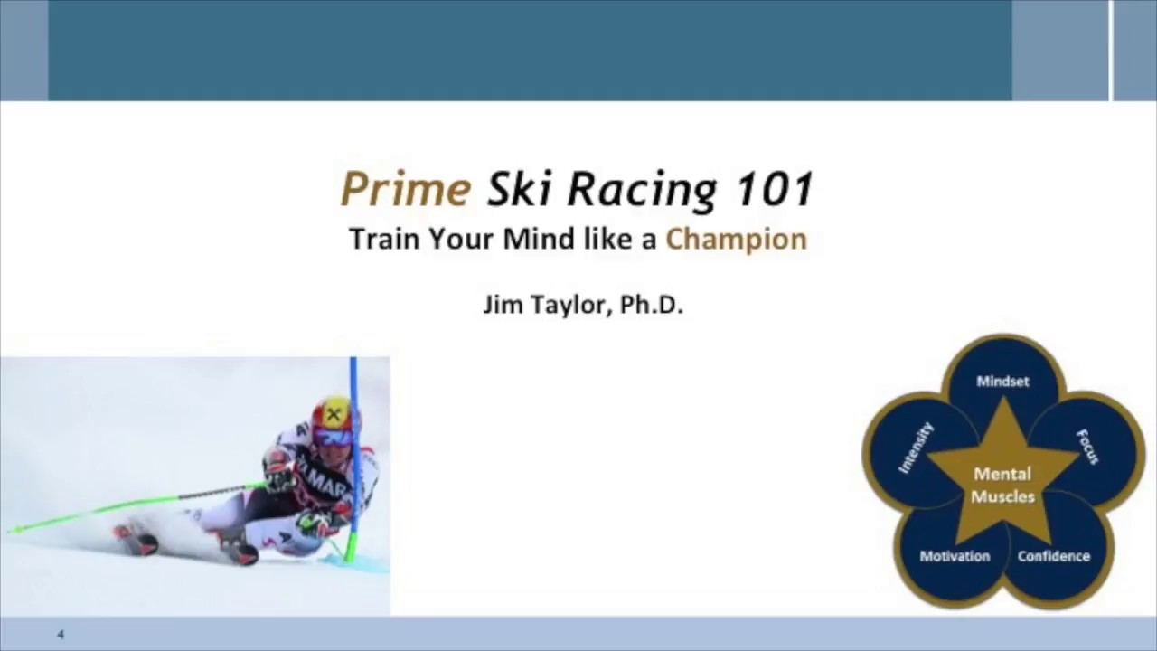 Prime Ski Racing 101 Vlog Segment #9: Mental Imagery is a Powerful Tool