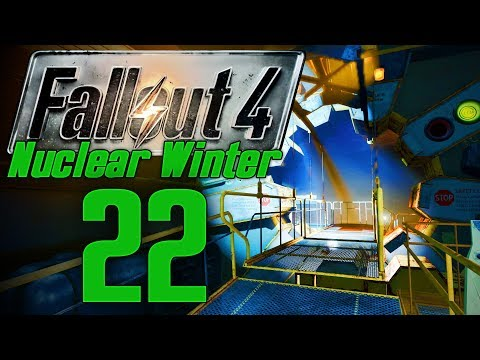 SUBWAY TO VAULT 114   FALLOUT 4: NUCLEAR WINTER #22   MODDED SURVIVAL LET'S PLAY