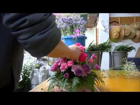 Флористика для начинающих: как составить праздничный букет своими руками (мастер класс).