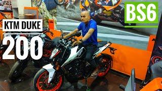BS6 KTM DUKE 200 •PRICE | FIRST LOOK | DETAIL WALKAROUND