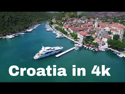 Croatia in 4k - Sibenik, Skradin, Krk, Punat, Vrbnik