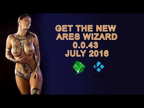 GET THE NEW ARES WIZARD 0.0.43 JULY 2016 KODI XBMC
