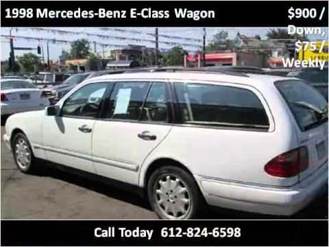 1998 mercedes benz e class wagon used cars minneapolis mn for 1998 mercedes benz e class wagon